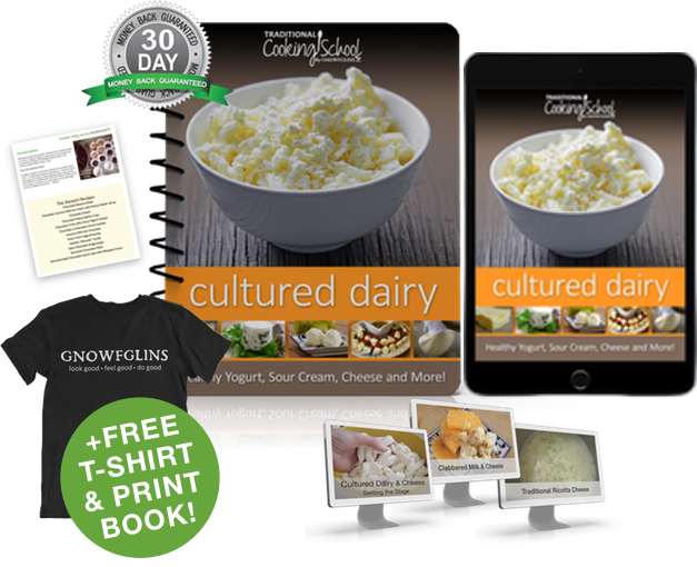 Cultured Dairy eBook or eCourse package