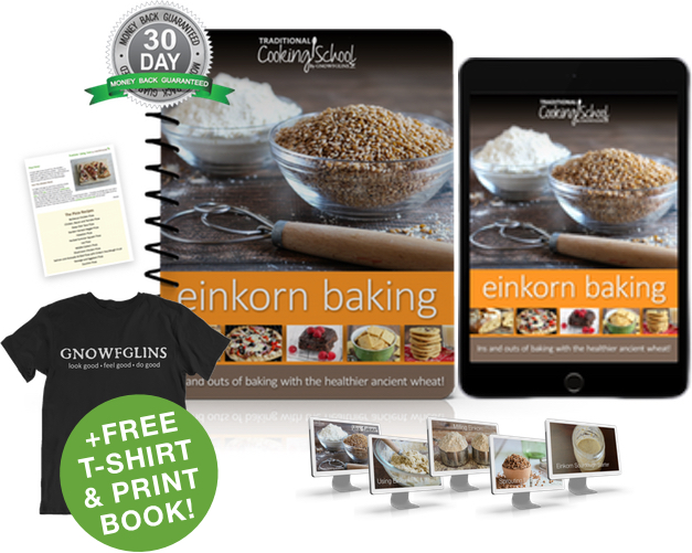 Einkorn Baking eBook or eCourse package
