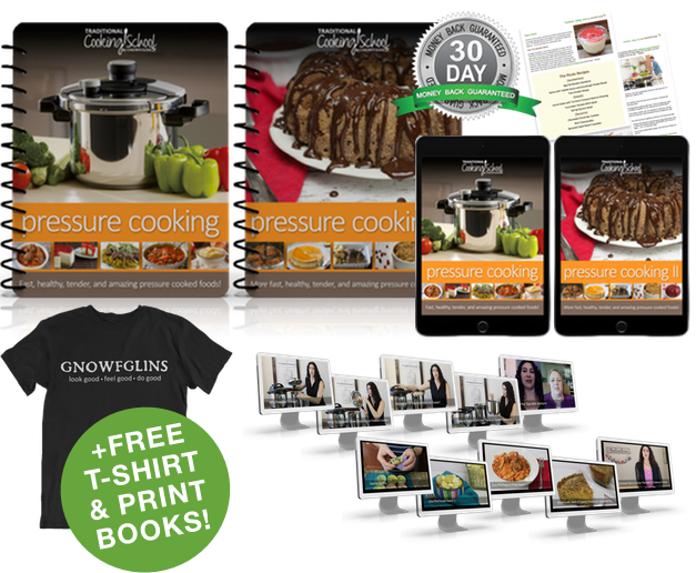 Pressure Cooking eBook or eCourse package