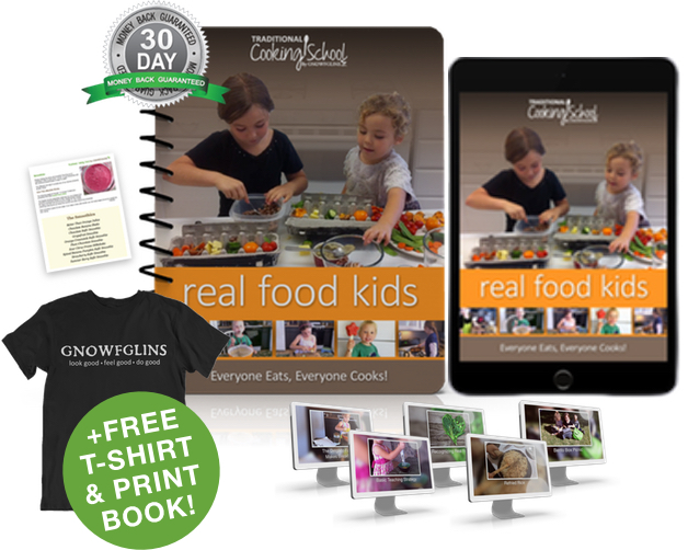 Real Food Kids eBook or eCourse package