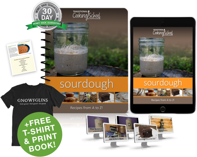 Sourdough A to Z eBook or eCourse package