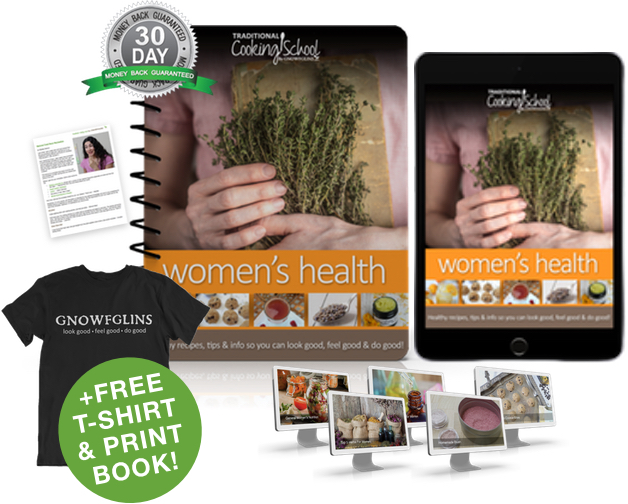 Women's Health eBook or eCourse package